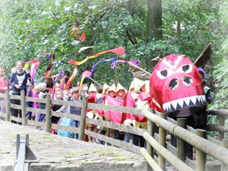 Dragon Procession